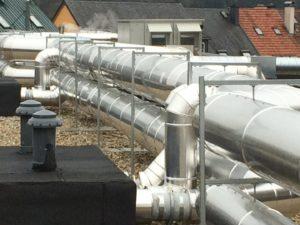 Isolation thermique avec tôle